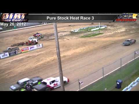 North Central Speedway 5/26/13 Pure Stock Races
