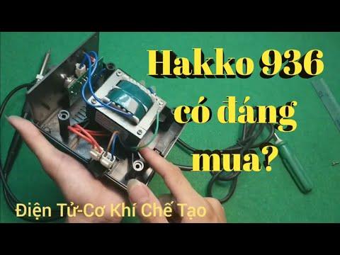 Bung Bên Trong Trạm Hàn Hakko 936 NTN – Nên mua Quick 936A hay Hakko 936