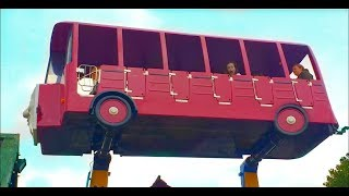 WHEELS ON THE BUS - Kids Fun at the Playground