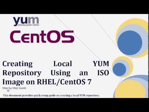 Local YUM REPO on CentOS 7 / RHEL 7 using DVD ISO by LinuxAcademy com