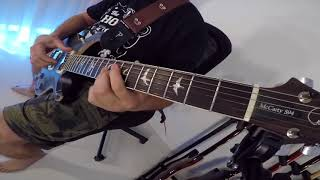 Moonlight Shadow Mike Oldfield Maggie Reilly Guitar Cover USA PRS McCarty 594