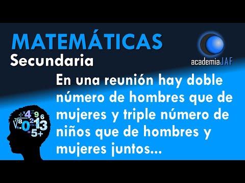 Problema de Ecuaciones - Ejemplo 03 - Matem�ticas