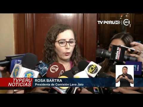 Bartra niega imparcialidad y defiende su permanencia en comisión Lava Jato