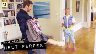 Helt Perfekt | Thomas spør om vaskehjelpen kan suge | TVNorge