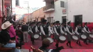 SANTA CRUZ DE JUVENTINO ROSAS GTO.  DESFILE GUADALUPANO 2015