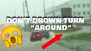 TROPICAL STORM IMELDA CAUSES HOUSTON, TEXAS TO  FLOOD AGAIN