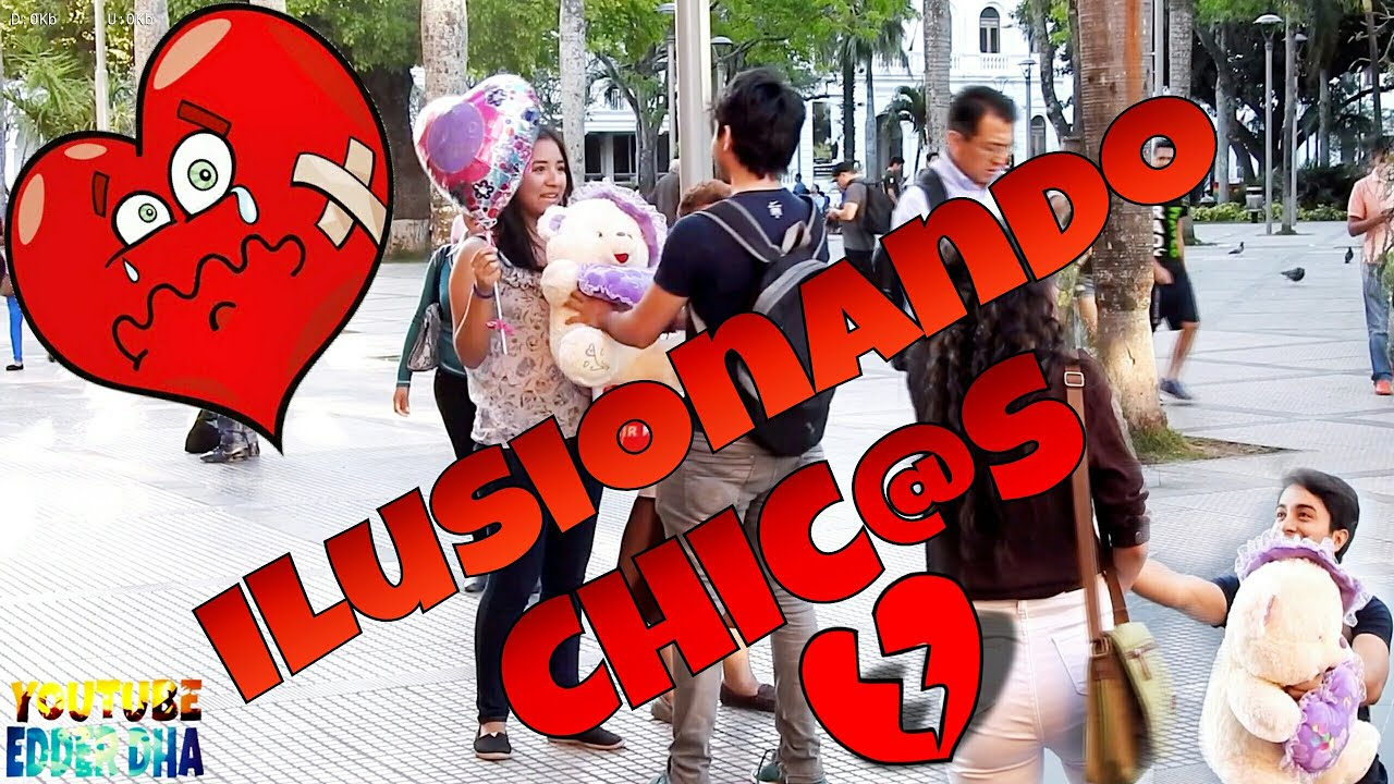 ILUSIONANDO CHICAS | rompiendo corazones  (plaza 24 santa cruz ) | PRANK |