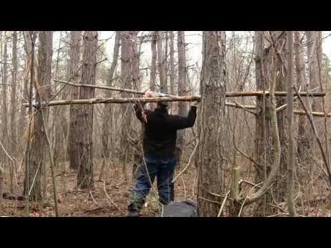 НОЧЕВКА В ЗИМНЕМ ЛЕСУ морозном зимнем лесу может обернуться