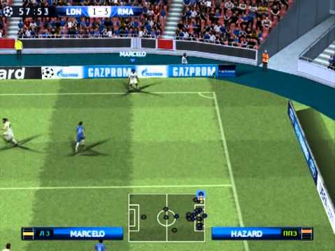 PES 2014 (PS2) Chelsea vs Real Madrid - UEFA Champions League - Final