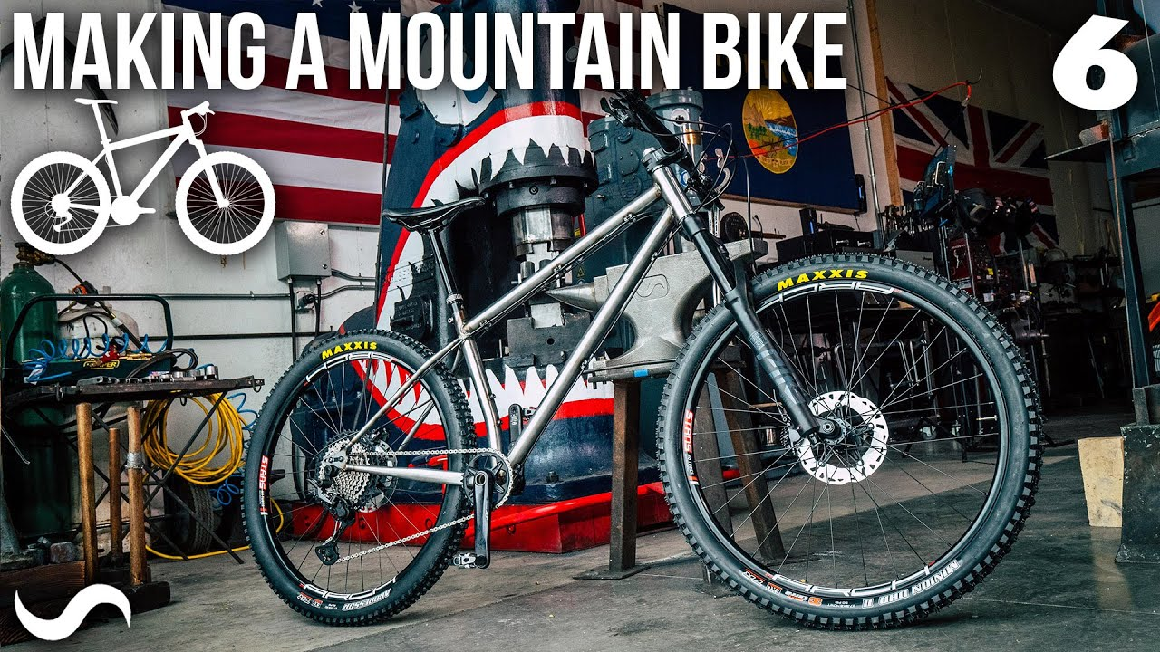 MAKING A MOUNTAIN BIKE!!! Part 6