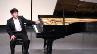 George Li plays Chopin, Rachmaninov and Liszt (encores from Walnut Hill School recital)