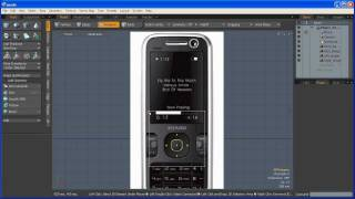 Cell Phone - Subdivision Surface Modeling Tutorial 1/8