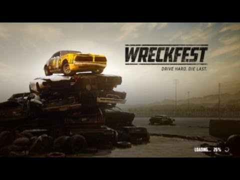 Wreckfest - Bloomfield Speedway Dirt Oval - No Reset Challenge (8 lap survival)