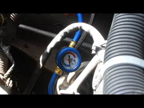2004 Saturn L300 Air Conditioner Recharge Youtube