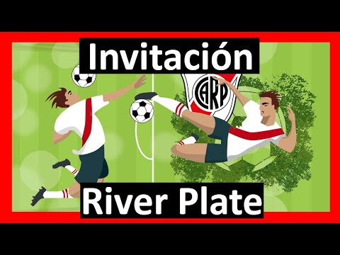 Video Invitación Futbol River Plate Whatsapp Digital