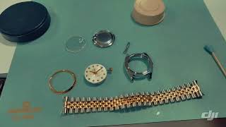 Rolex oyster perpetual datejust servicing