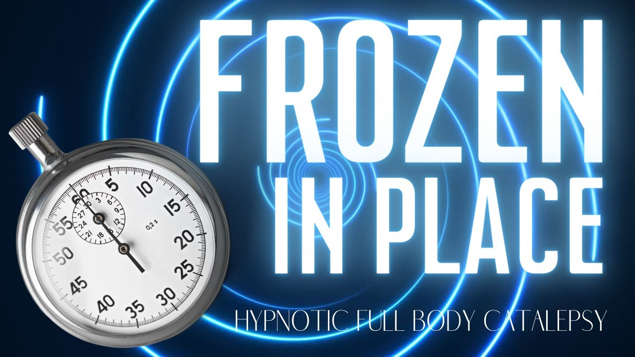 Frozen In Place! (Body Catalepsy Hypnosis with a Trigger Set to a Timer)