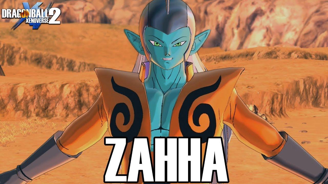 ZAHHA ENTERS XENOVERSE 2!!! Dragon Ball Xenoverse 2 Mods Gameplay!