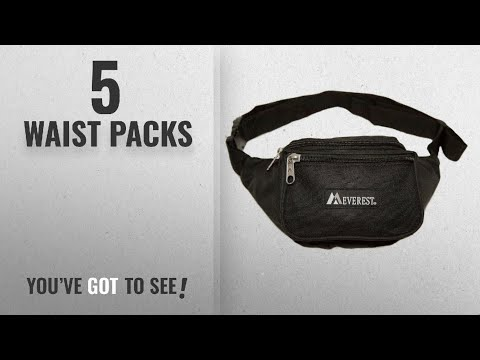f2a85162612e Everest Fanny Pack With Water Bottle Holder | Fanny-pack