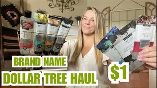 NEW DOLLAR TREE HAUL *BRAND NAME ITEMS**