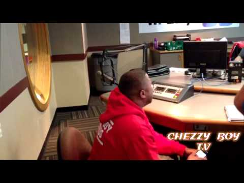 CHEZZY BOY INTERVIEW ON POWER 98  No Limit Larry  CHARLOTTE RADIO STATION CHEZZY BOY T.V