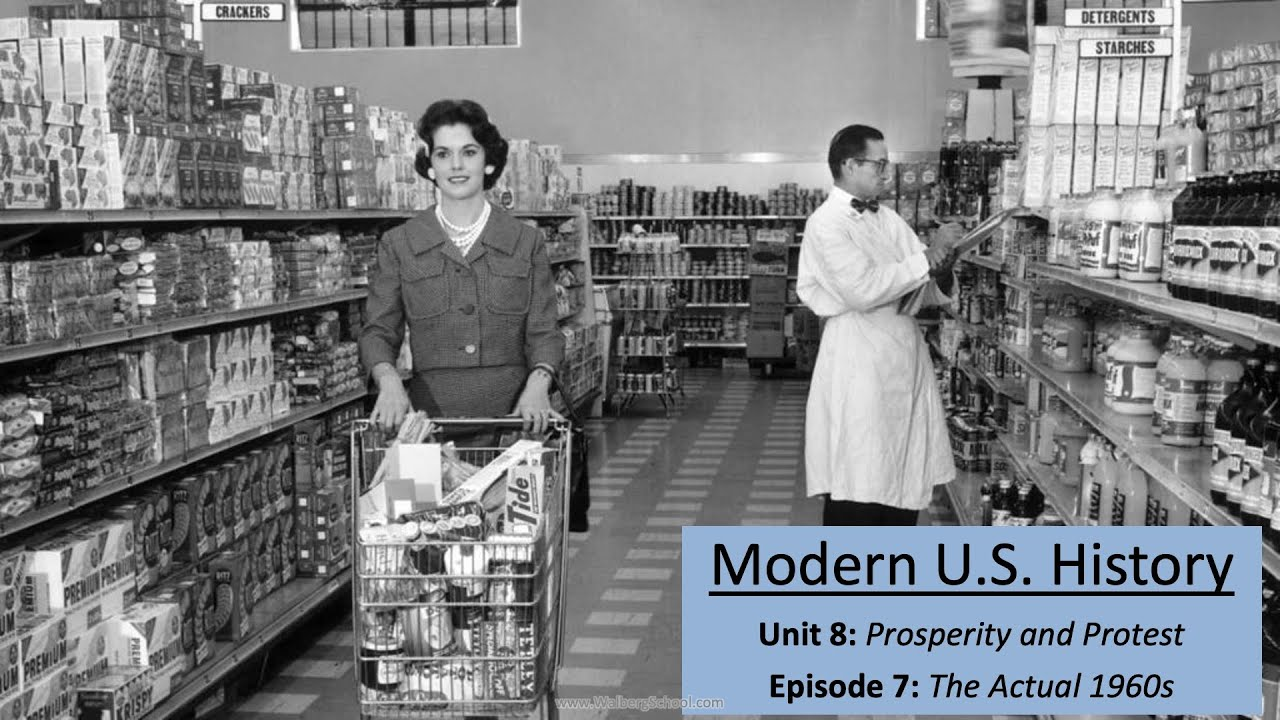 Download Unit 8: Prosperity and Protest; Episode 7: The Actual 1960s