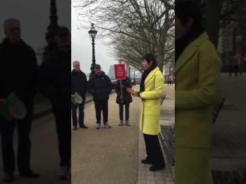 Lib Dem London Assembly Member Caroline Pidgeon speaks out against Garden Bridge