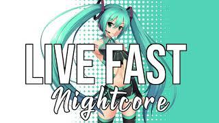 (Nightcore) Live Fast - Alan Walker, A$AP Rocky