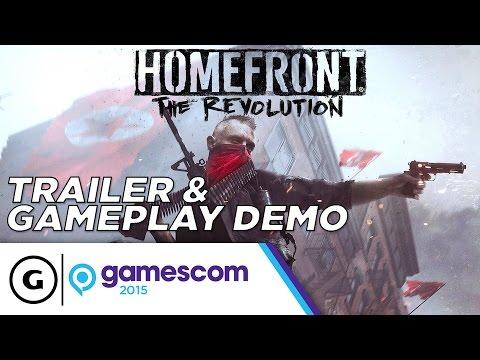 Homefront: The Revolution Trailer & Gameplay Demo - Gamescom 2015
