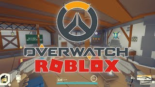 OVERWATCH in ROBLOX?!?! | Q-CLASH CRAZY 40 ELIMINATIONI!