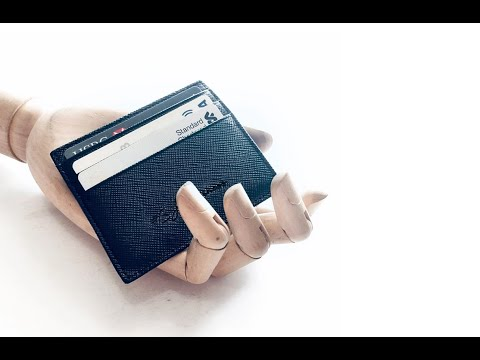 Men's Wallet - A stylish, slim, efficient wallet is all you need!