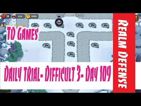 Realm Defense- Daily Trial- Difficult 3- Day 109