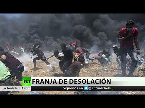 Masacre en la frontera Israel-Gaza por traslado de la Embajada de EE.UU.