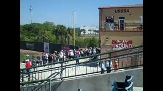 Oscelola County Stadium- spring home of the Houston Astros