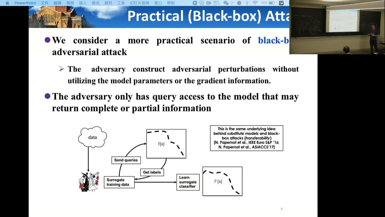 Hang Su   Adversarial attacks in deep learning - YouTube