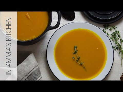Quick And Easy Pumpkin Ginger Soup Recipe