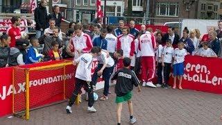 Spetterende finale Ajax StreetWise