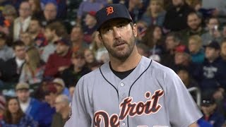 DET@MIN: Twins walk bases loaded vs. Verlander
