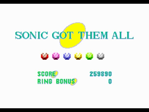 Sonic the Hedgehog 1: All 6 Special Stages (HD)