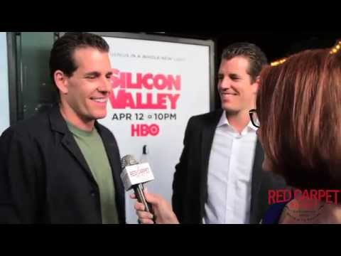 Cameron & Tyler Winklevoss at the Season 2 Premiere for HBO's Silicon Valley #SiliconValley