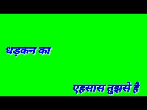 Green Screen WhatsApp Status Aashiqui 2 Best Of Shayari