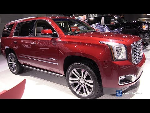 2018 GMC Yukon Denali - Exterior and Interior Walkaround - 2017 LA Auto Show