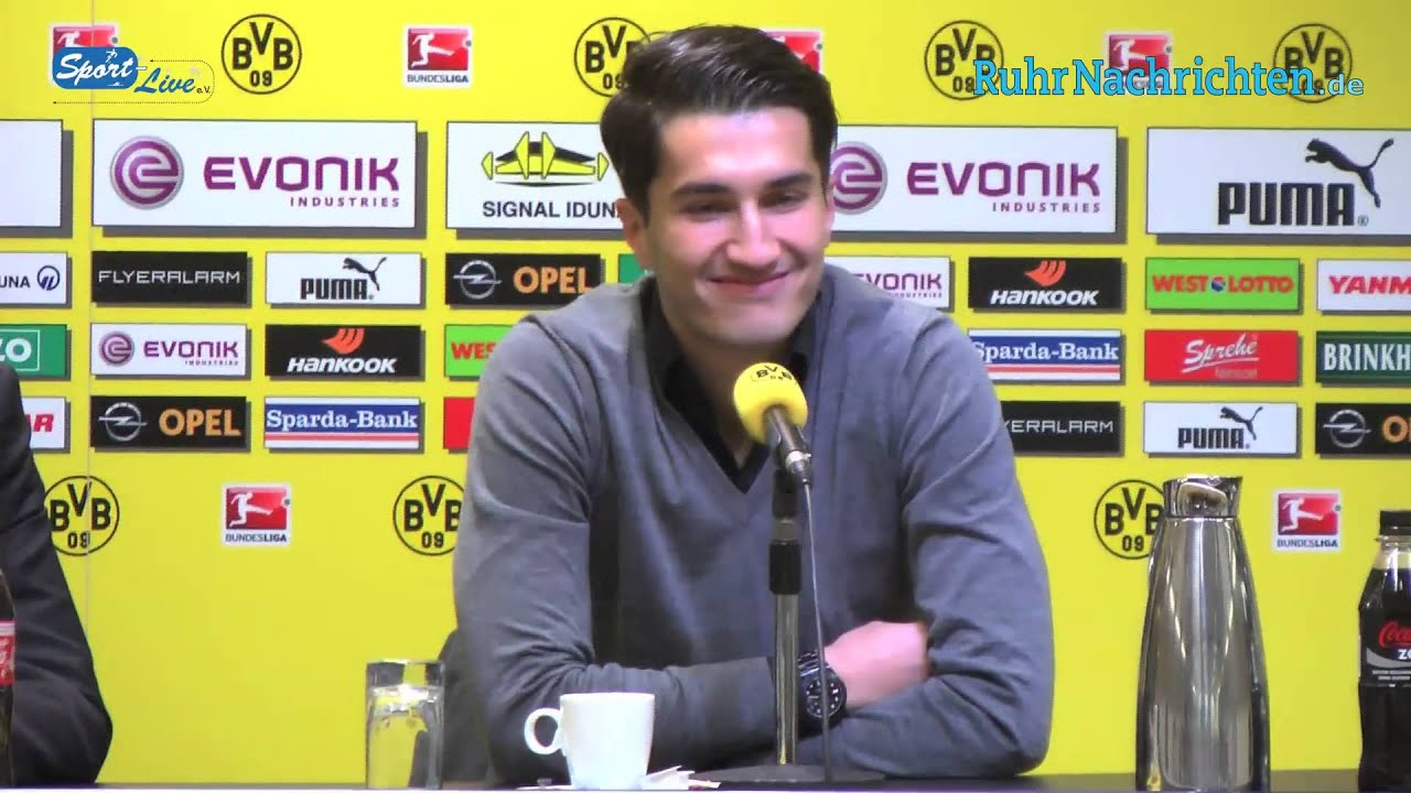 BVB Pressekonferenz zur Rückkehr von Nuri Sahin und Vertragsverlängerung von Marcel Schmelzer