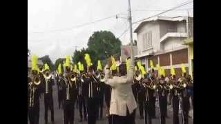 Shake It Off - Taylor Swift     Marching Band INSA  El Salvador.