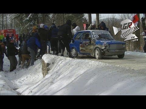 Marcin Szatanik | Fiat 126p | QUICK OFF & TRUE RALLY FANS | Darvit Walimska Wiosna 2018 | GRB