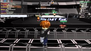 Roblox wwe Nxt takeover part 1