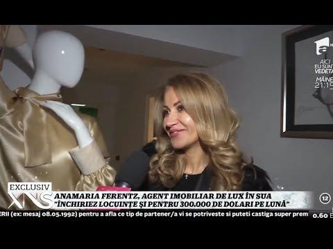 Anamaria Ferentz, agent imobiliar în SUA: Închiriez locuinţe şi pentru 300.000 de dolari pe lună