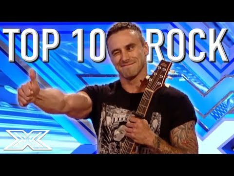 Top 10 Rock Auditions EVER! | X Factor Global