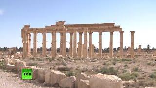 Стародавня Пальміра: Кореспондент RT побував в історичній частині міста відвойованого