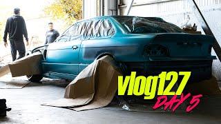 Άστραψε ο τόπος! Ρίξαμε βερνίκι 🤩 Vlog 127   ZFGARAGE